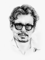 Johnny Depp by dipizamora