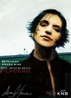 Brian Molko CGed - Last by nationofdarkness