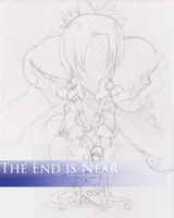 The End is Near -SKETCH- by Paprika-Studios