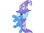 Trixie magic vector by ThePonyDream