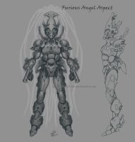Eldar Furious Angel Concept by Sokil-Su