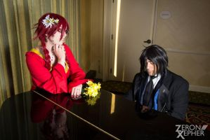 That Butler, Serenading by RayniaSky