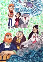 Song of the Sea by WhiteFangKakashi300