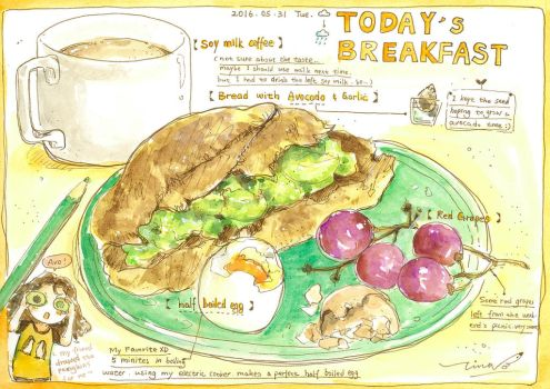 #daily053 Today's Breakfast (5) by tinashan