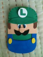 Luigi Mobile Case by anapeig