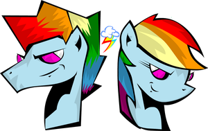 Blitz and Dash by lion2k6