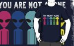 You Are Not Alone T by sicklilmonky