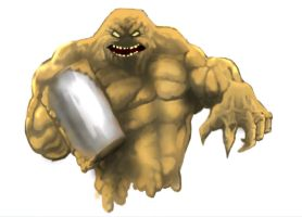 Batman Rogues Gallery-Clayface by thedarkcloak