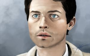 Cas Painting by MelodicMadness