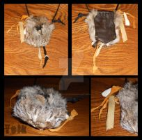 Medicine Bag - Bobcat Pouch by Shamans-Yoik