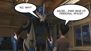 TFP Arcee and Jack: Personal Space by ECs-Overlord