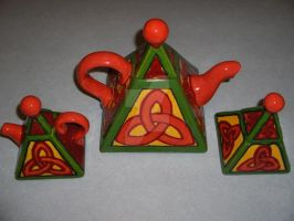Celtic Mother's Day Tea Set by Eseopia