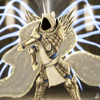 Celestia as Tyrael by AdlerToberg