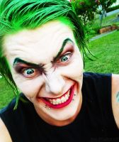 The Joker Cosplay Makeup by JessStaardust