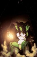 She-Hulk by nikoanaya