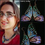 Shimmer Butterfly Earrings by Biorave