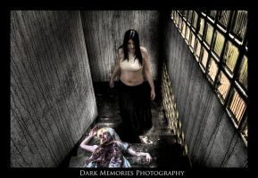 Bloody stair by DarkMPhotography