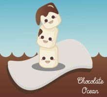 Chocolate Ocean, Pirates MarshMallow by manuvergara