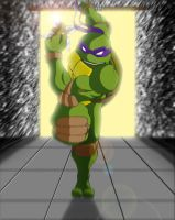 Rushing Donatello by Tigerfog