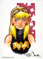 Wonder Girl, Young Justice by ToddNauck