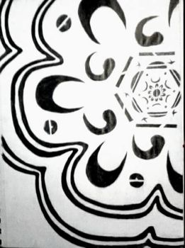 Black And White Design Thing by dbzrocker910