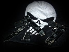 my punisher airsoft colts by OniPunisher