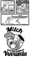 Mitch and the Vuvuzela by msprout