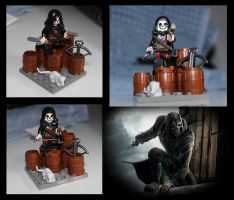 Lego Dishonored Corvo Attano by LD-Skull