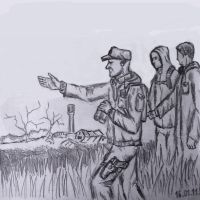 A trip to the Zone by Ulyanovetz