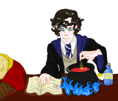 Sherlock potion by EtheralSnow