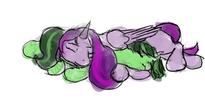 Starlight Sleepytimes by JulepPony
