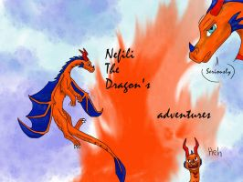 Nefili The Dragon Title page by Cynysi