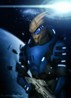 Mass Effect 2 - Garrus by Mecha-Potato-Alex