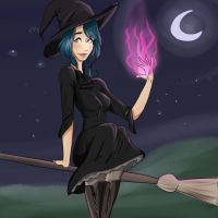 Witch by Vmillzy