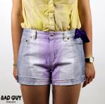 Super Kawaii Bow Ombre Shorts - BAD GUY THREADS by 2K00L4U