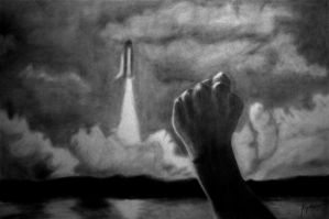 The Hand that Launched a Dream by enzofrenzy