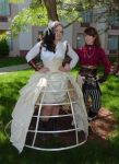 SPWF 2012 - Seamstress and Lydia 1 by LadyduLac