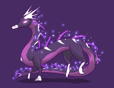 Astral Dragon Design by SunScales