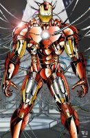 Iron Man mark7-Tyndall-rbel1031 by BigRob1031
