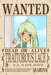Lace Wanted Poster by seungcheol