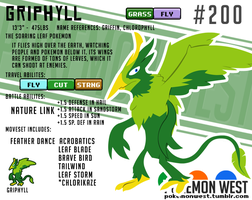 #200 Griphyll by pokemonwest