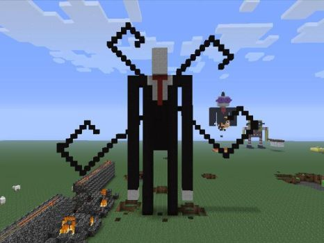 Minecraft Slenderman by sonadowlover1996