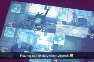 Call of duty game (with my Squads) by surimix
