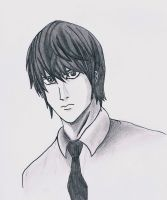 Light Yagami by CarnageWolff