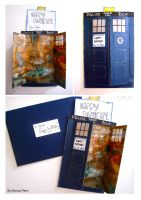 Brad's TARDIS Birthday Card by Cinnamonster