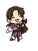 Assassins creed chibi Ezio by chaos-dark-lord