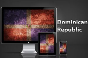 Dominican Flag by masacote18