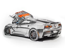 2014 Chevrolet Corvette C7 by Mipo-Design