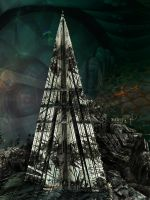 A Shard in Space by timemit