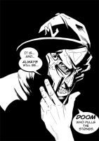 MF DOOM The SuperVillain by mad-arts